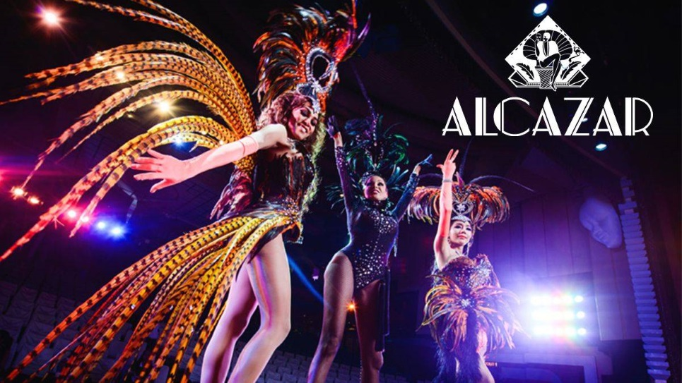 Enjoy the Alcazar Cabaret Show