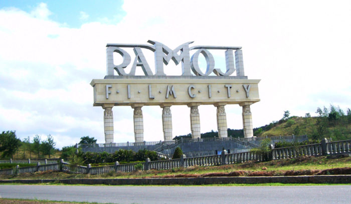 Ramoji Film City in Hyderabad
