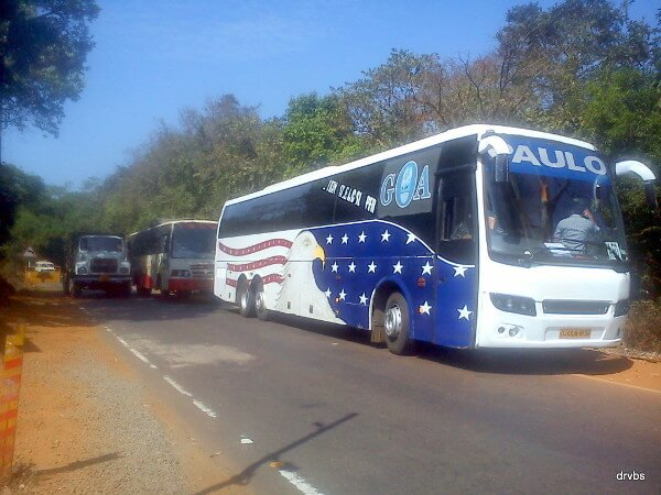 Bangalore To Goa Volvo Bus Services