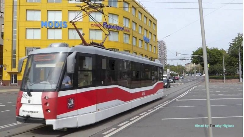MOSCOW TRAMRussia