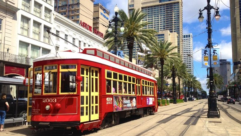 NEW ORLEANS STREETCARUSA